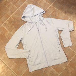 Uniqlo thin athletic zip up jacket size medium